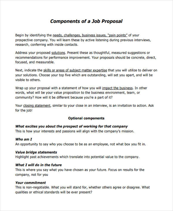 FREE 57 Proposal Templates and Examples in PDF  Google