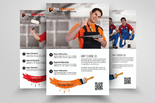 30 Examples Of Advertising Flyer Design PSD AI Vector EPS