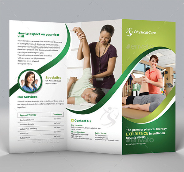 20 Examples Of Fitness Brochure Design PSD AI InDesign Vector EPS