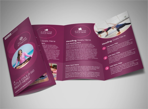 21 Examples Of Fitness Brochure Design PSD AI