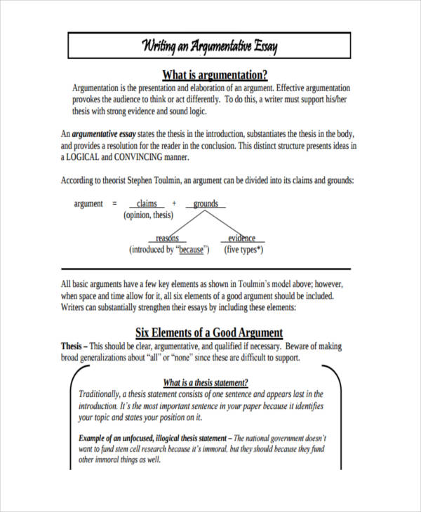 examples of a argumentative essay essay writing examples  21 essay writing examples argumentative essay example examples of a argumentative essay
