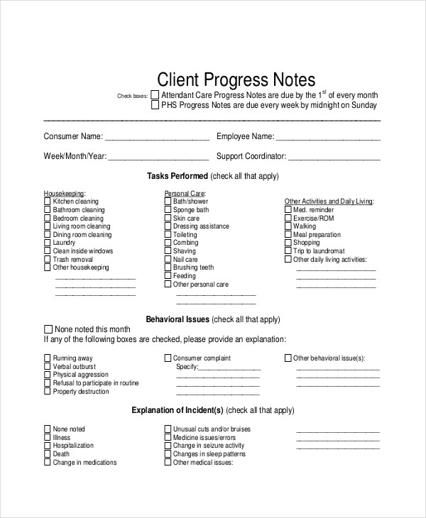 FREE 24 Note Examples In PDF DOC Examples