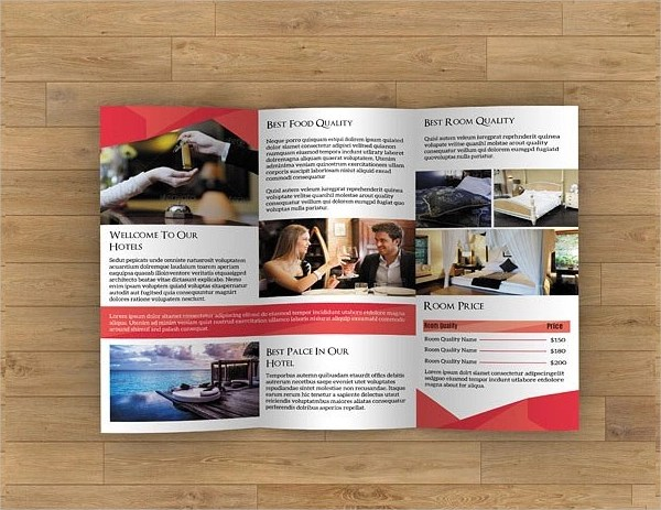 11 Examples Of Hotel Brochure Design Word PSD Publisher