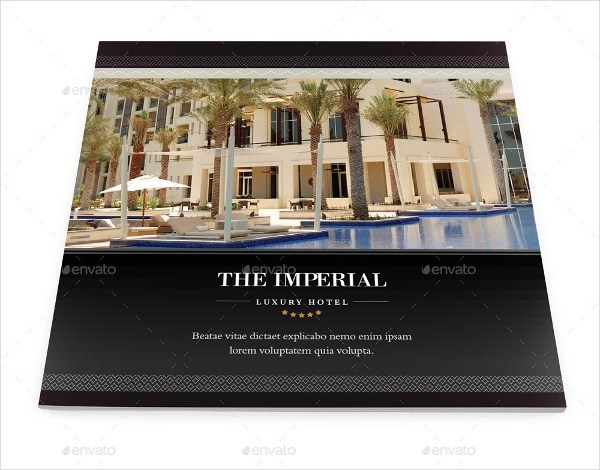 14 Examples Of Hotel Brochure Design Word PSD