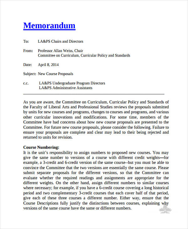 Memo Proposal Example Hospi Noiseworks Co