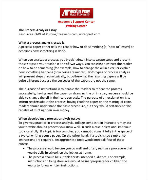 10 Analysis Essay Examples Samples  Examples