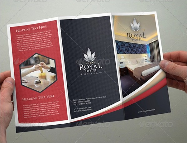 10 Hotel Brochure Designs & Examples PSD AI Vector EPS