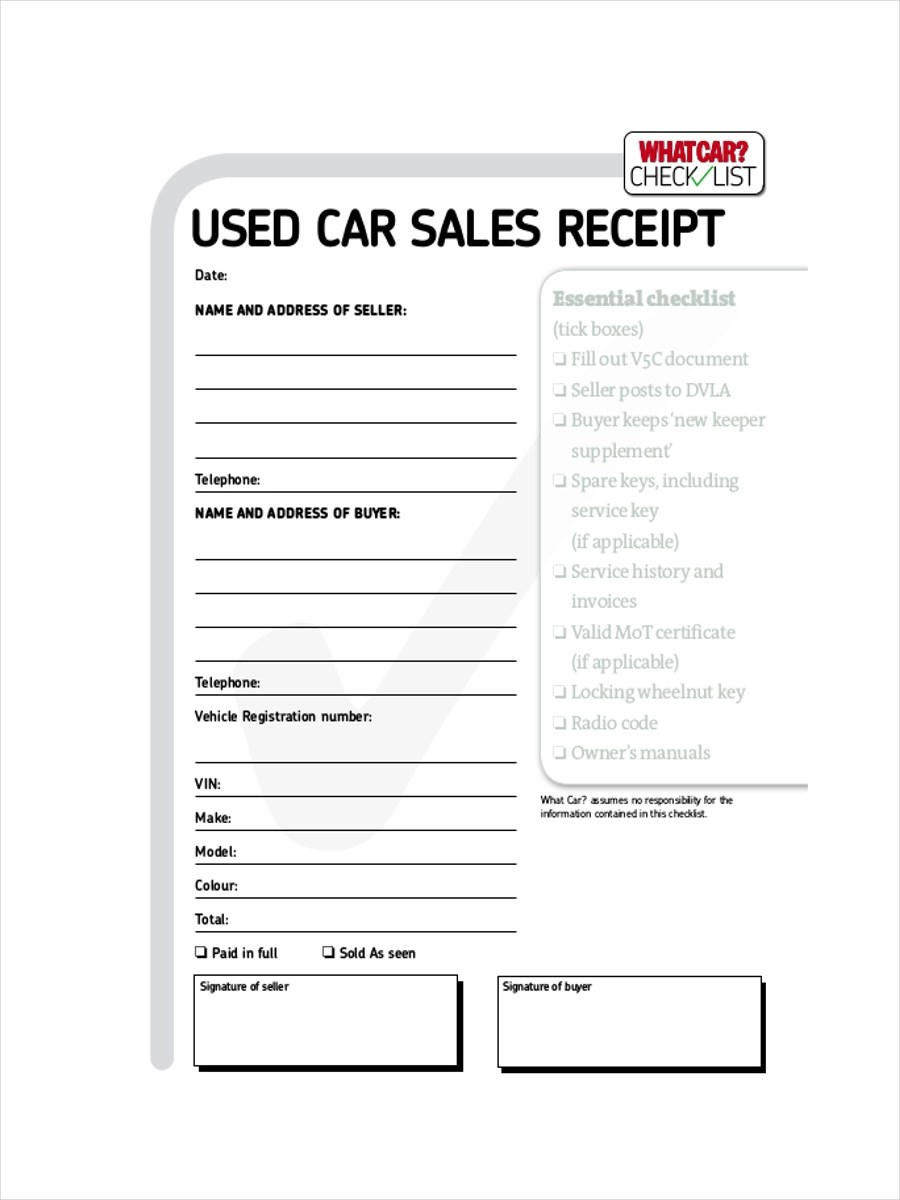 Delivery Receipt Proof Delivery