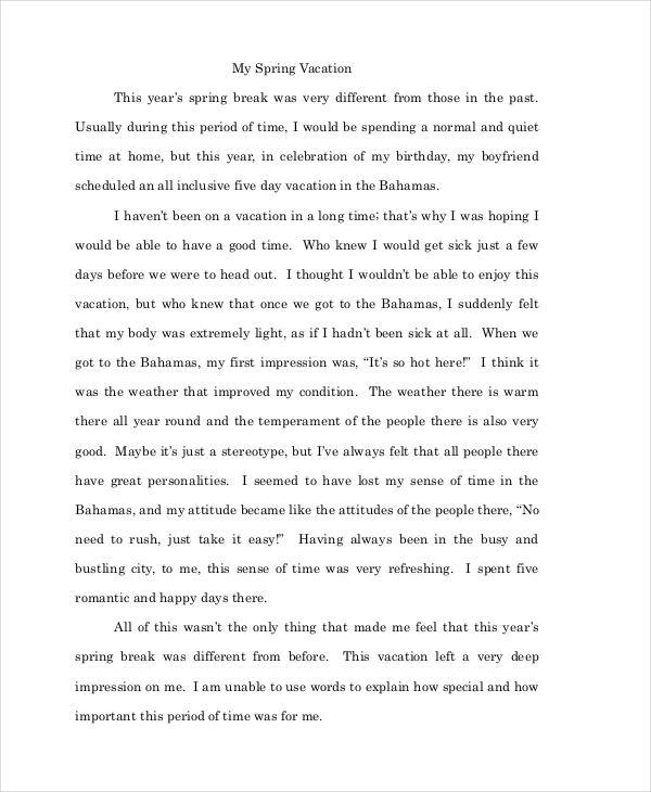 a good essay examples
