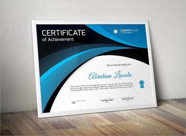 24 Modern Certificate Examples  Samples  PDF Word Pages  Examples