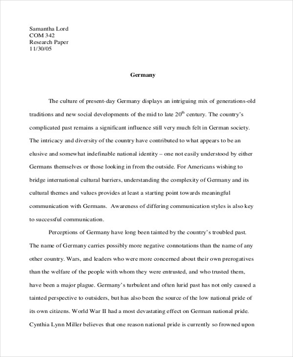 8 Concept Essay Examples Samples