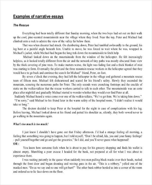 argumentative essays samples