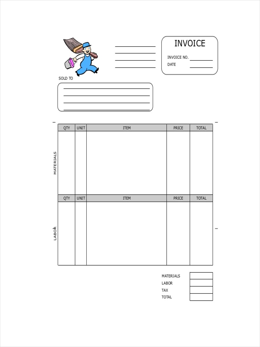 11 Contractor Receipt Examples Samples Examples