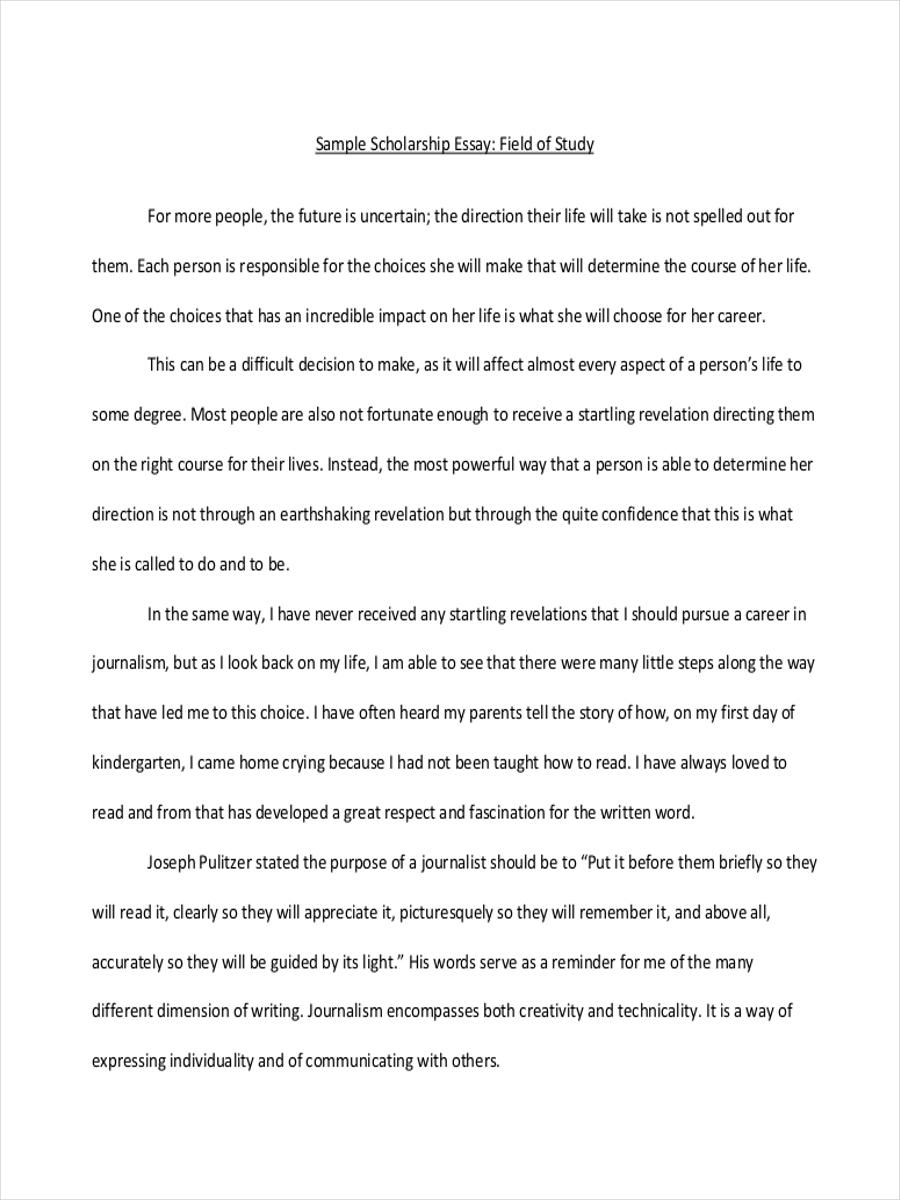 7 Short Essay Examples  Samples  PDF  Examples