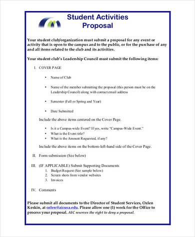 50 Project Proposal Examples PDF Word Pages Examples