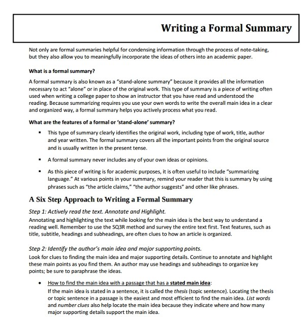 10 Formal Writing Examples  Samples  PDF DOC  Examples