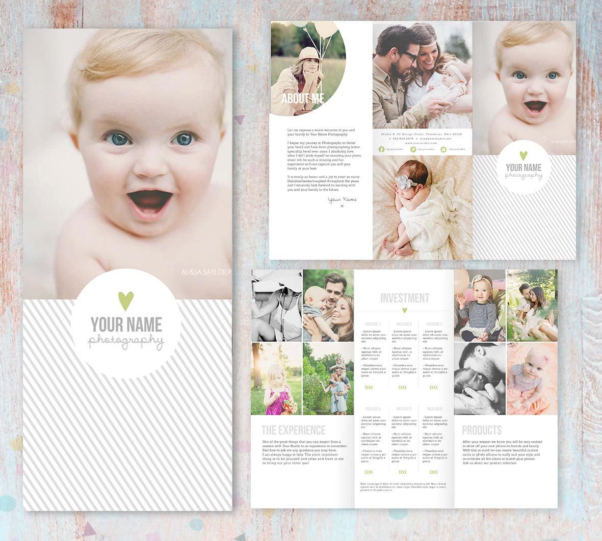 16 Photography Brochure Examples Editable PSD AI Vector EPS