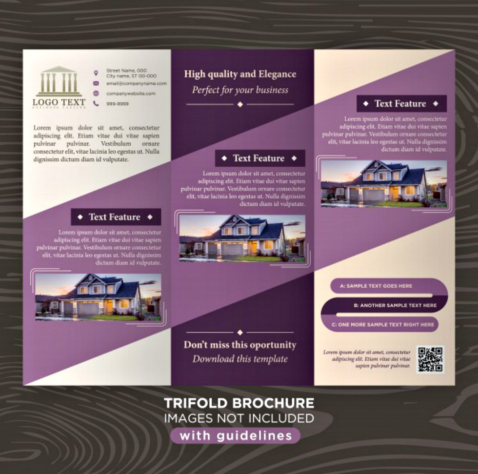 20 Brochure Examples In PSD