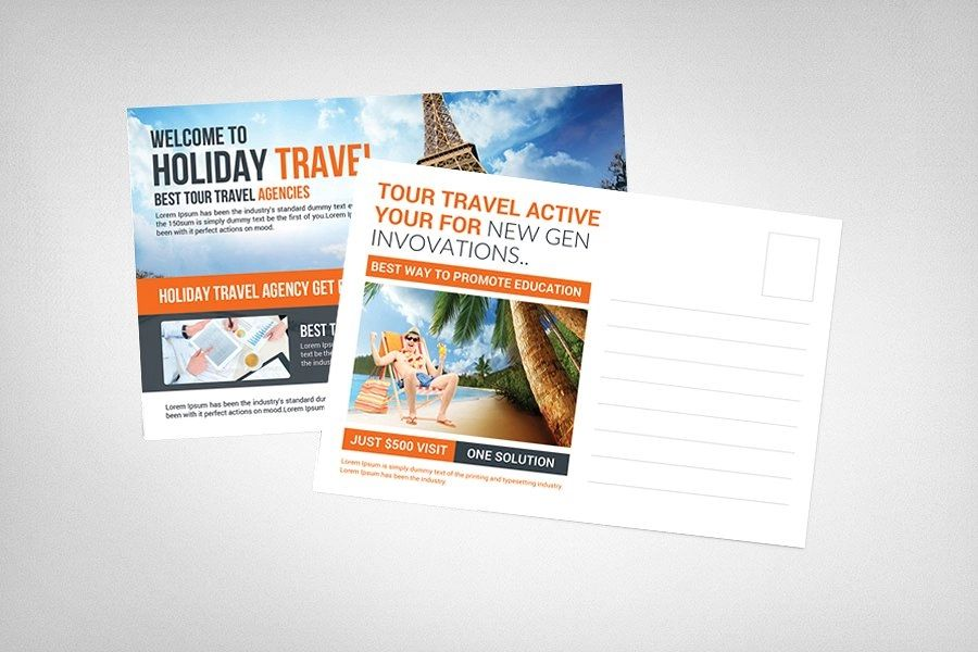 holiday postcards examples