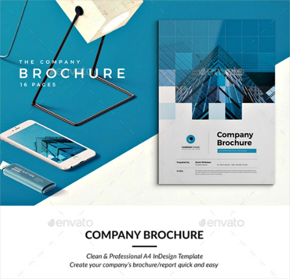 30 Best Brochure Examples PSD InDesign Format