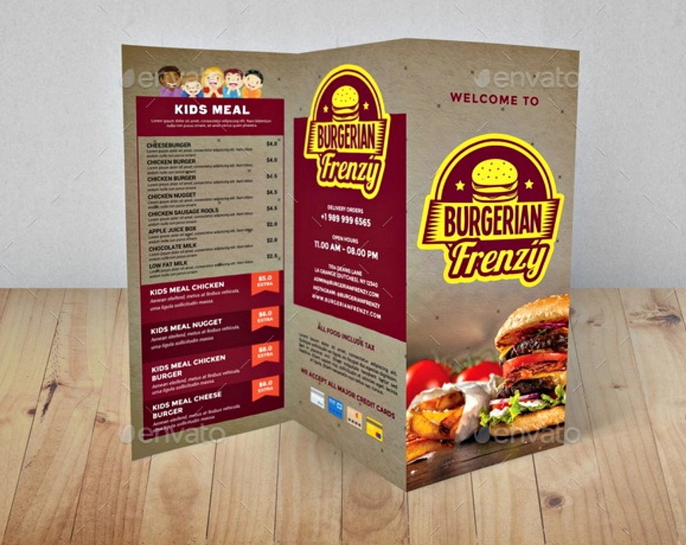 10 Examples And Techniques For Designing Food Brochures