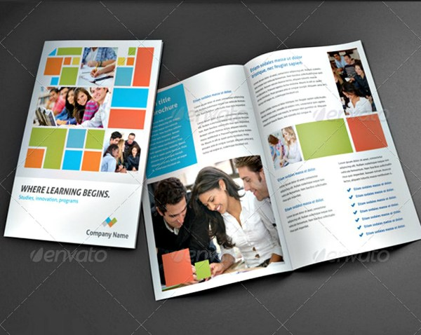 Examples Of Brochure Design Education - Editable