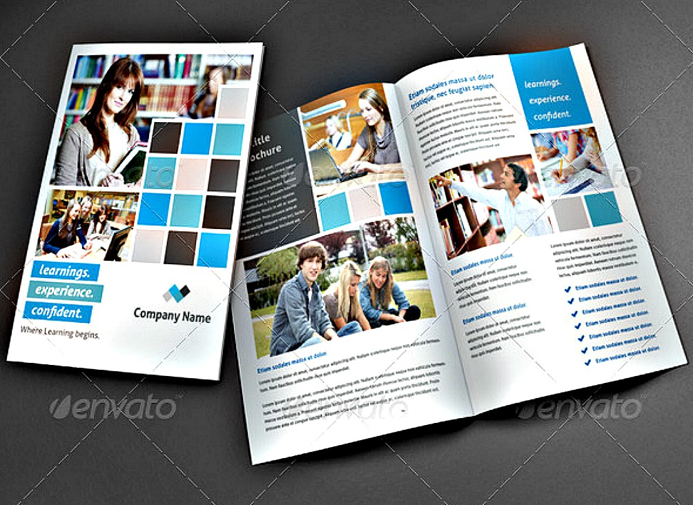 15 Examples Of Brochure Designs For Education Editable