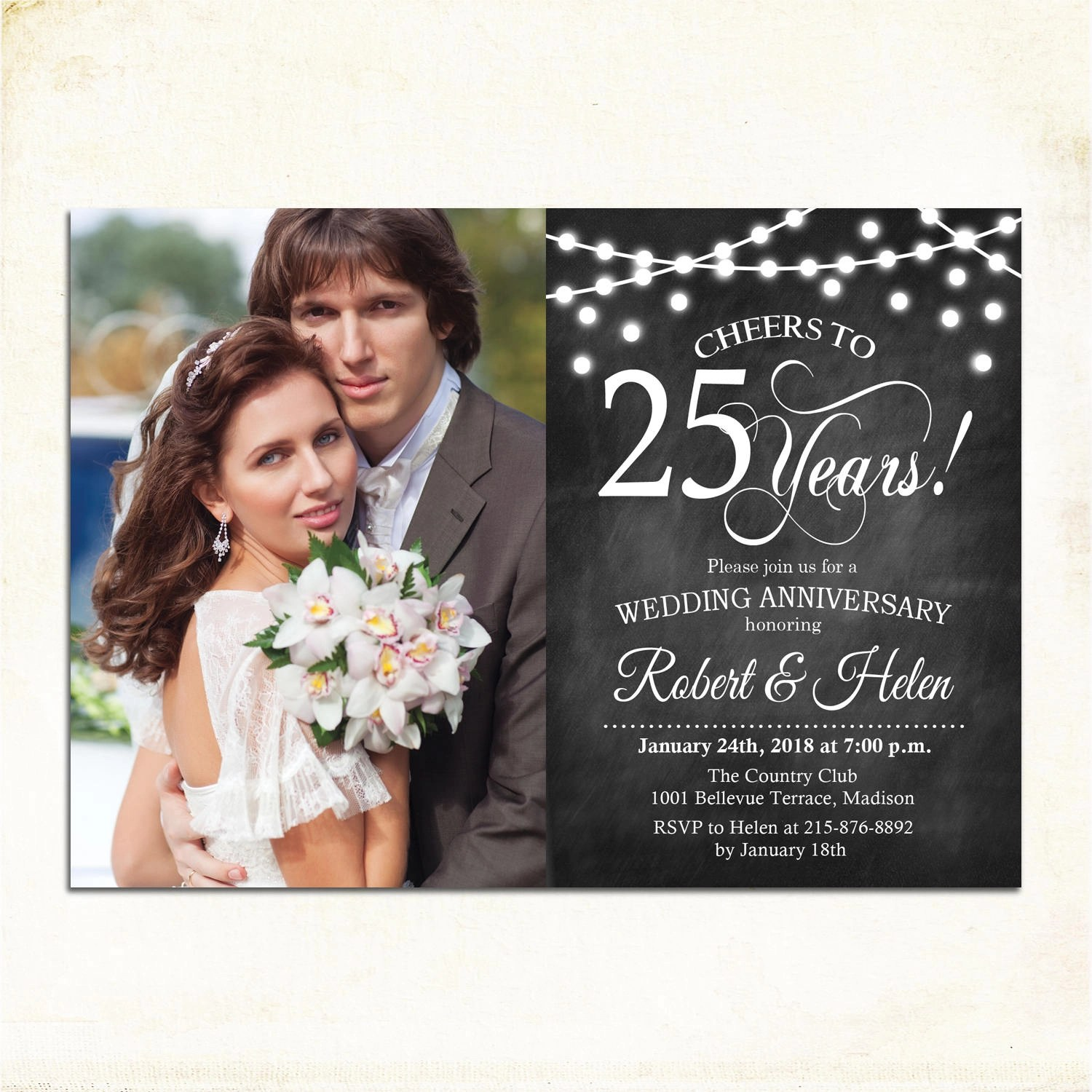 21 Wedding Anniversary Invitation Designs and Examples  PSD AI  Examples