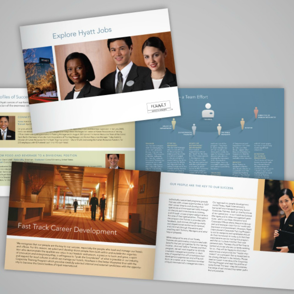 10 Examples Of Recruitment Brochure Design Editable PSD