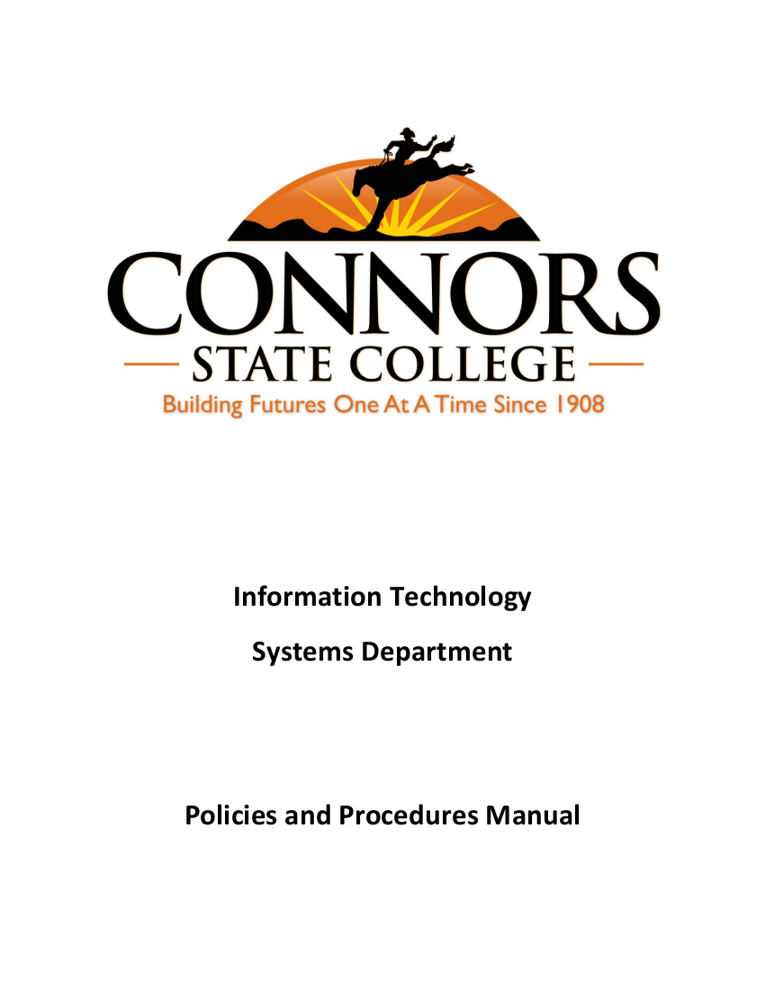FREE 9+ Examples of IT Policies and Procedures in PDF