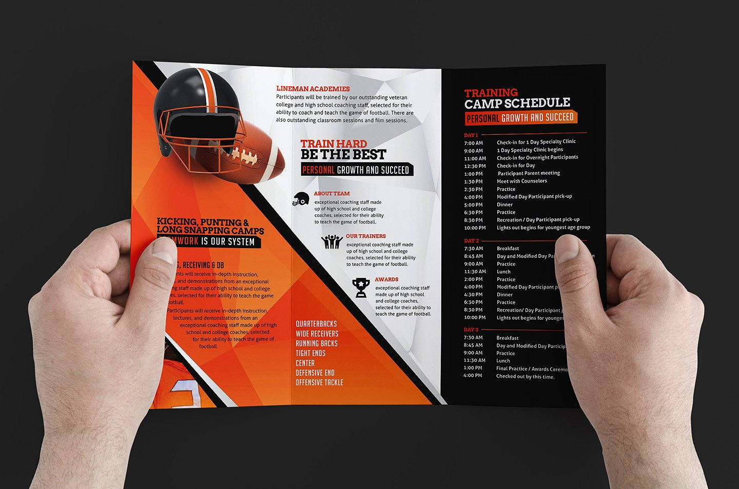 9 Training Brochure Designs Editable PSD AI Format Download