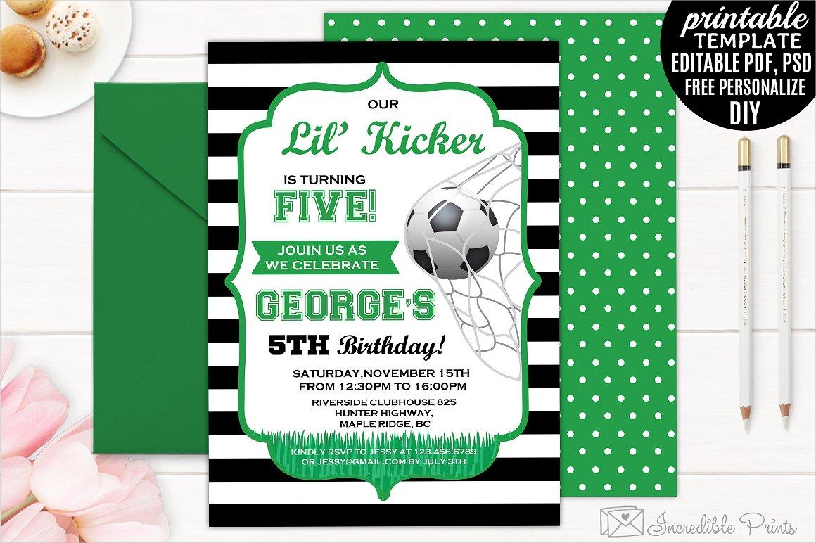 boys birthday invitation designs