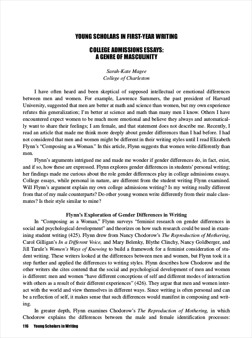 9 College Essay Examples  Free PDF Format Download  Examples