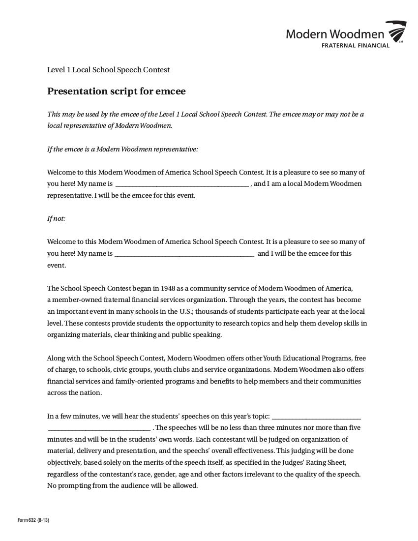 video resume script sample for teachers