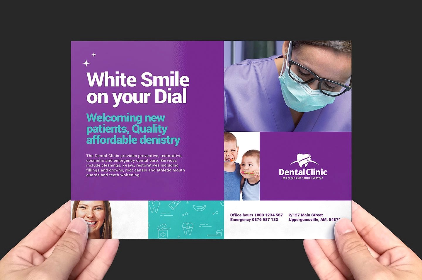 14 Dental Flyer Designs & Examples PSD AI Vector EPS