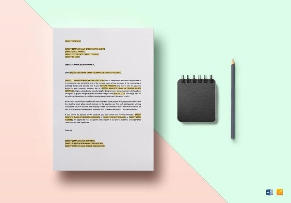 10 graphic design proposal
