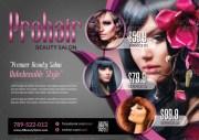 examples of beauty salon flyers