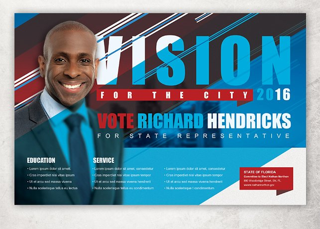 12 Campaign Flyer Designs & Examples PSD AI Vector EPS