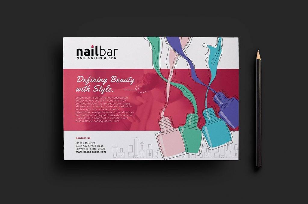 15 Nail Salon Flyer Designs & Examples – PSD AI