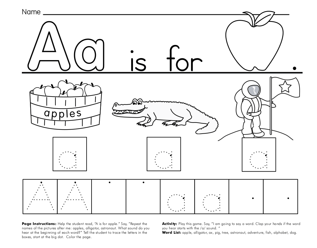 9 Alphabet Worksheet Examples In