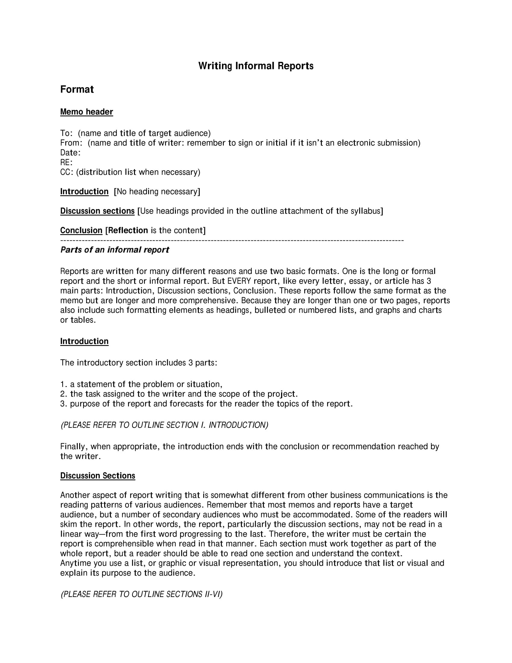 19 Report Writing Format Examples PDF MS Word Pages