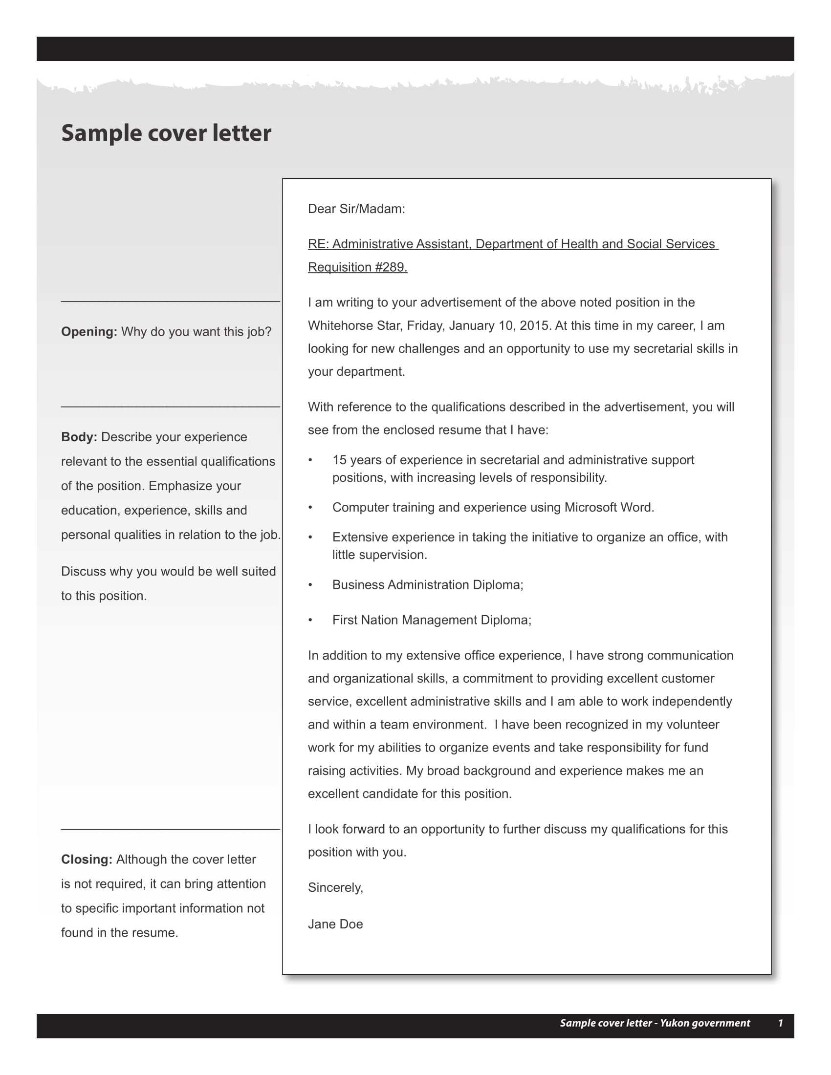 9 Professional Cover Letter Examples  PDF  Examples