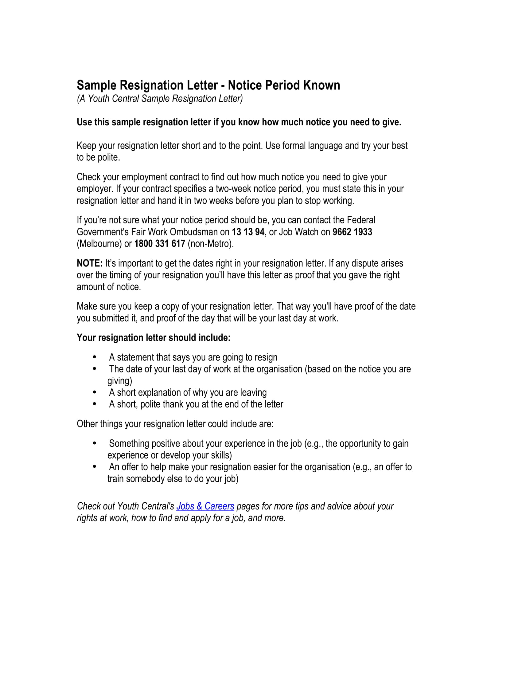 12 Employee Resignation Letter Examples  PDF Word