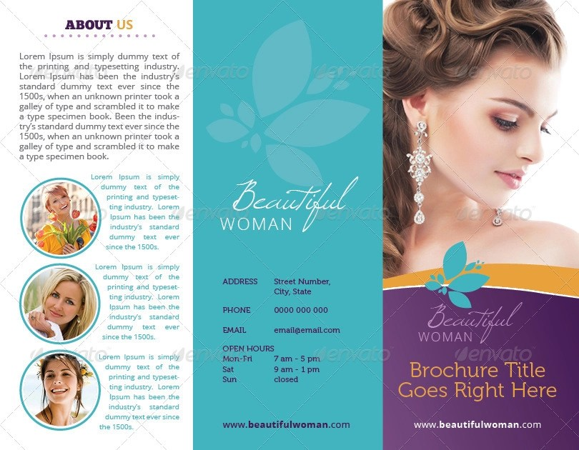 18 Beauty Salon Brochures Designs And Examples PSD AI