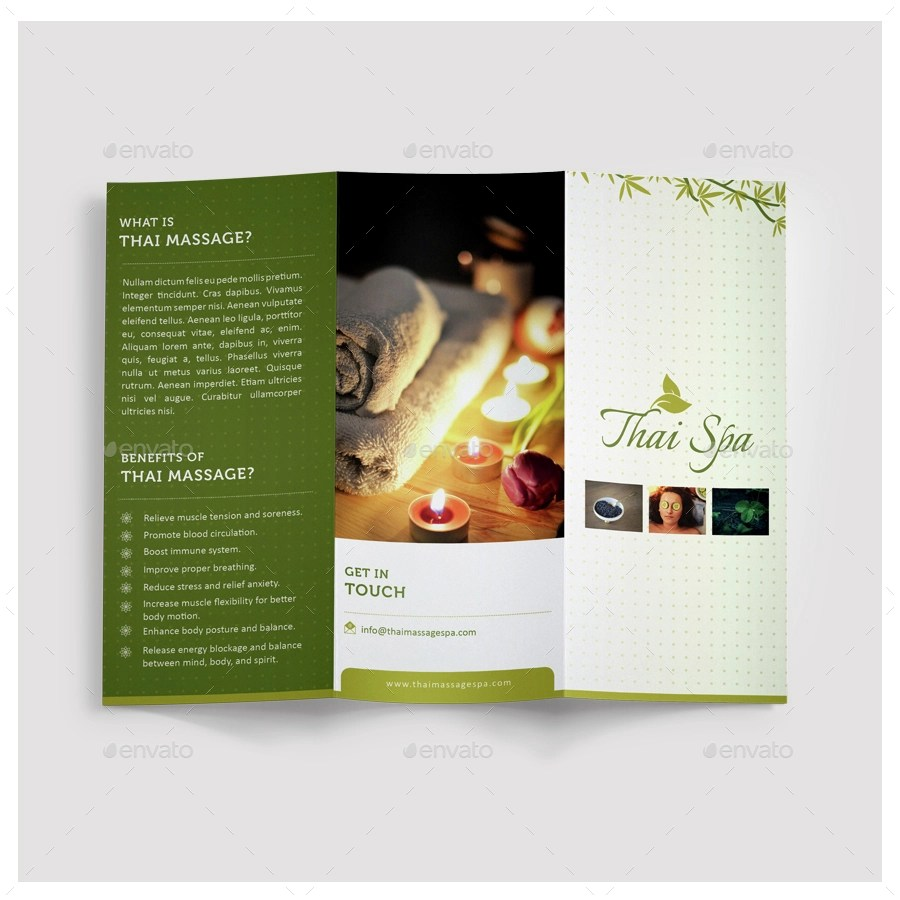 19 Massage Brochures Designs And Examples PSD AI