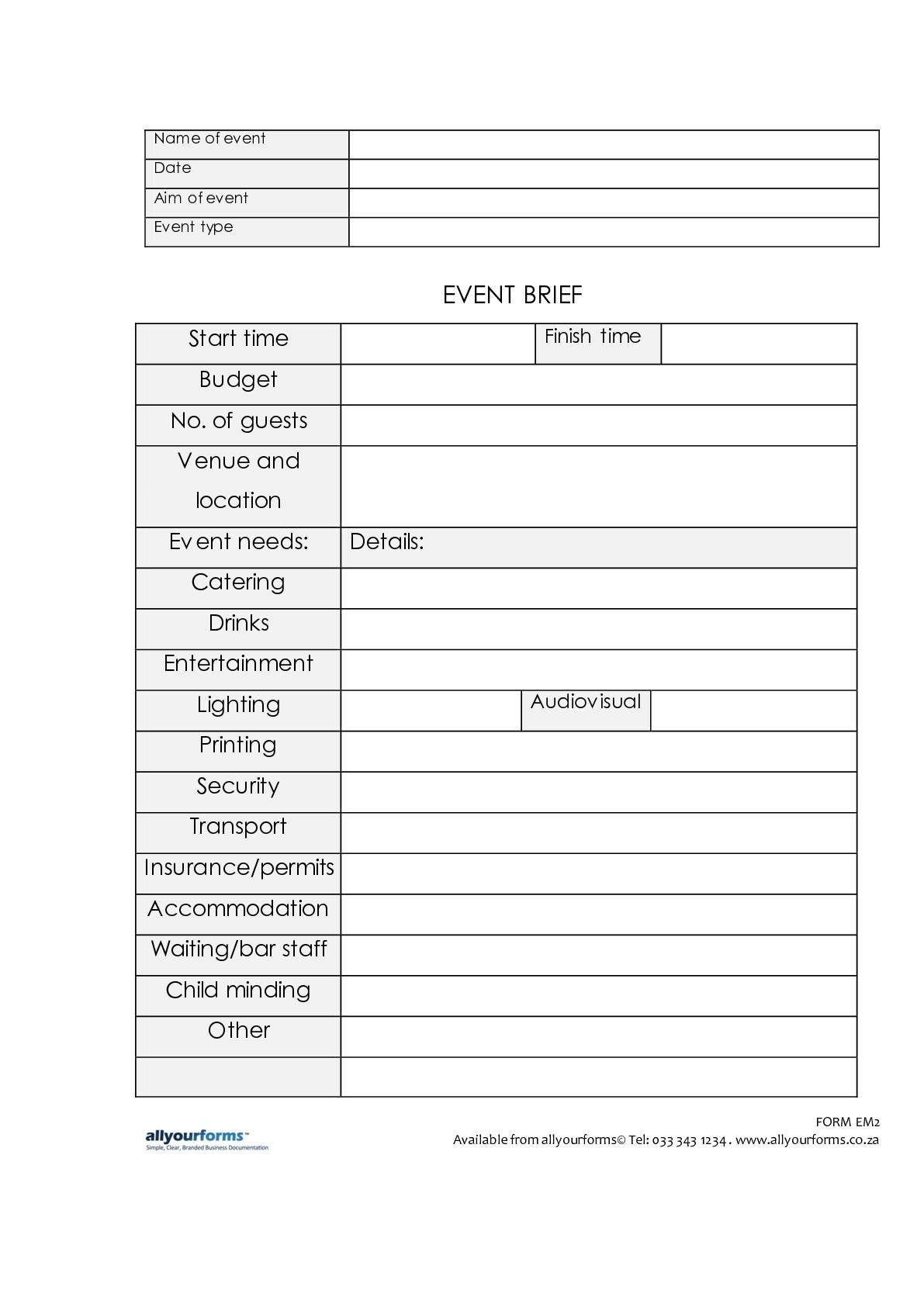 Event Security Job Description