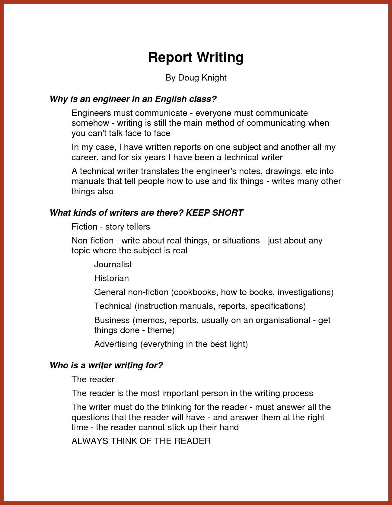 11 Narrative Report Examples  PDF  Examples