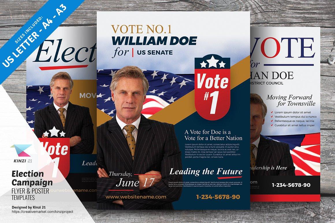 12 campaign poster designs