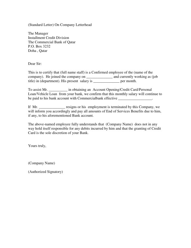 17+ Employment Verification Letter Examples - PDF, DOC  Examples