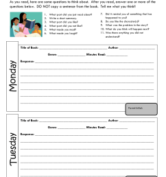 29+ Printable Reading Log Examples in PDF   Examples [ 1100 x 850 Pixel ]